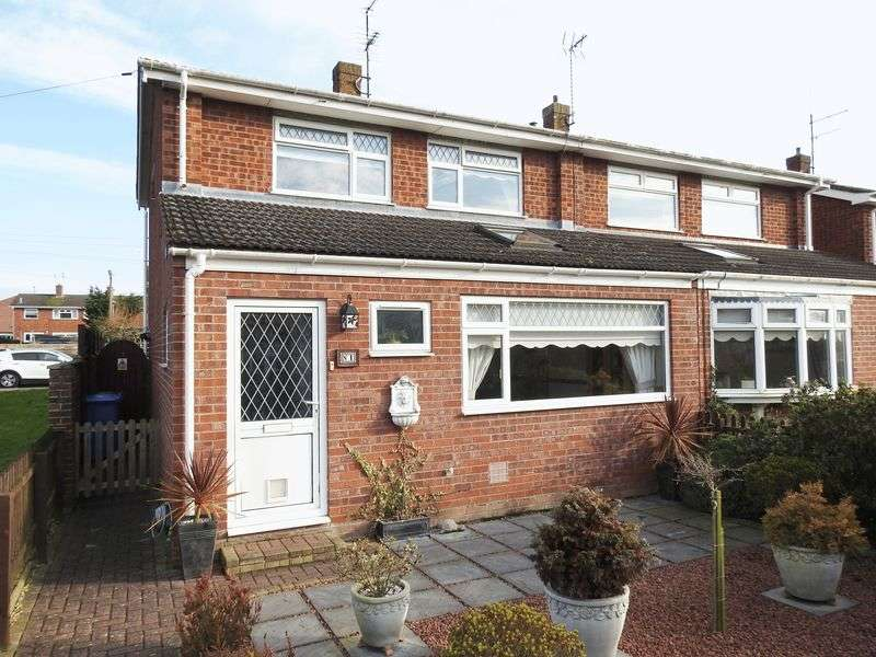 3 Bedrooms Semi Detached House for sale in Fritton Close, Lowestoft