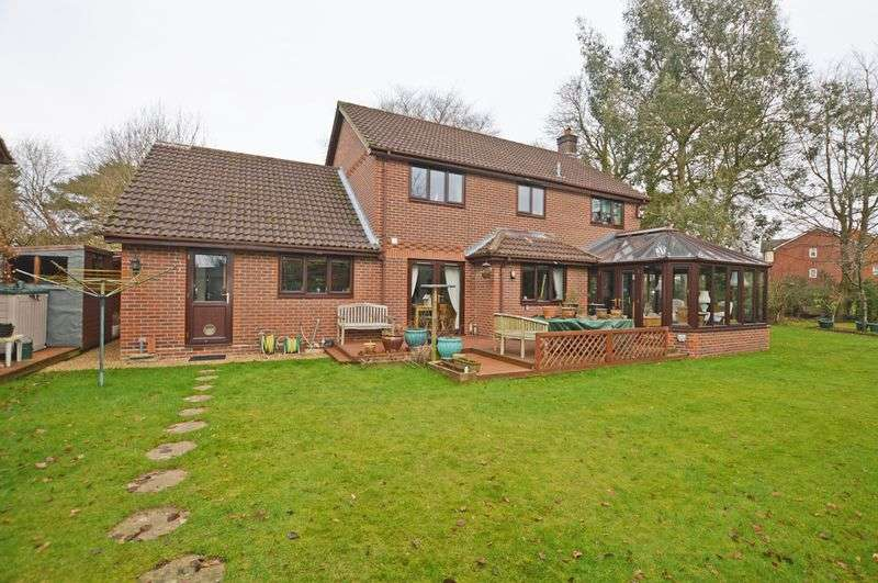 4 Bedrooms Detached House for sale in St. Faith Close, Four Marks, Alton, Hampshire