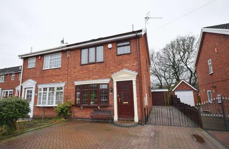 3 Bedrooms Semi Detached House for sale in Westacre, Bucknall