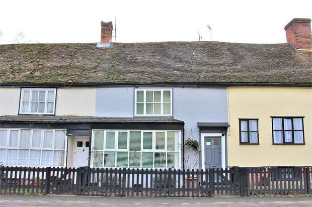 2 Bedrooms Terraced House for sale in Shalford, Braintree, Essex