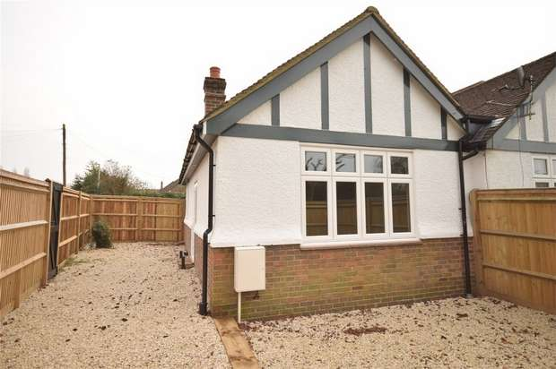 1 Bedroom Semi Detached Bungalow for sale in Bradbourne Vale Road (corner with Robyns Way), Sevenoaks, Kent