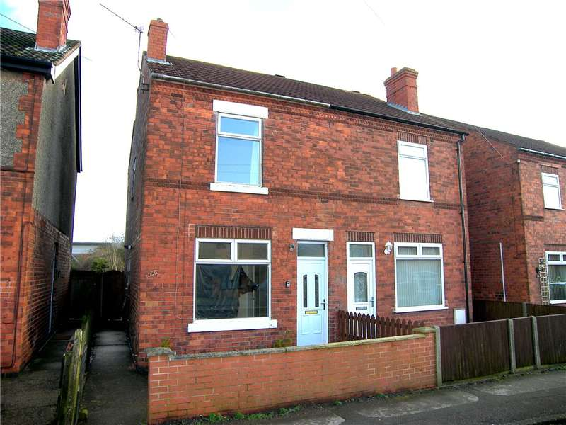2 Bedrooms Semi Detached House for sale in Carter Lane East, South Normanton, Alfreton, Derbyshire, DE55