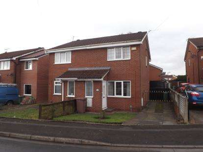 2 Bedrooms Semi Detached House for sale in Cheltenham Drive, Newton-Le-Willows, Merseyside