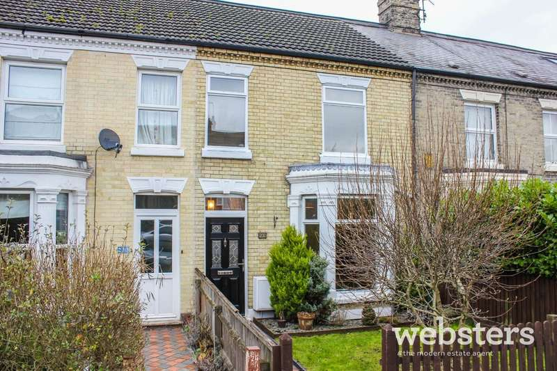 3 Bedrooms Terraced House for sale in Dereham Road, NR2