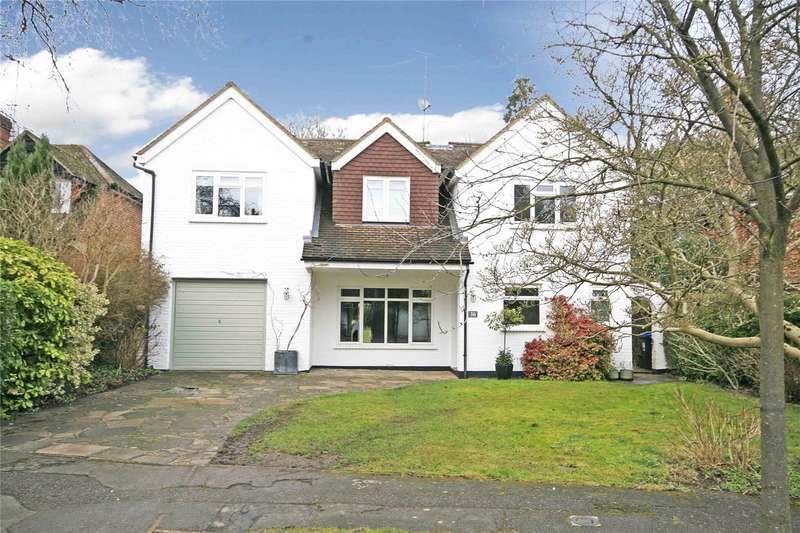 4 Bedrooms Detached House for sale in Hare Hill Close, Pyrford, Woking, Surrey, GU22