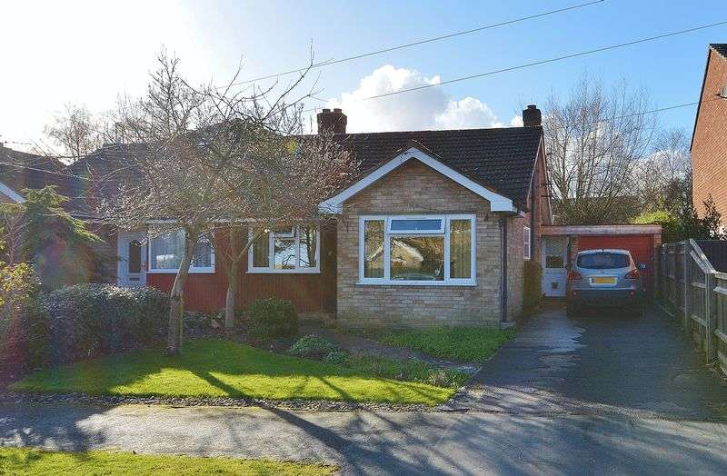 3 Bedrooms Semi Detached Bungalow for sale in College Crescent, Oakley