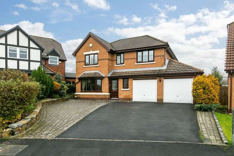 5 Bedrooms Detached House for sale in Hartington Drive, Standish, WN6 0UA