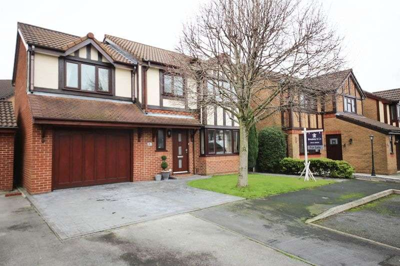 4 Bedrooms Detached House for sale in Rosina Close, Ashton in Makerfield, Wigan