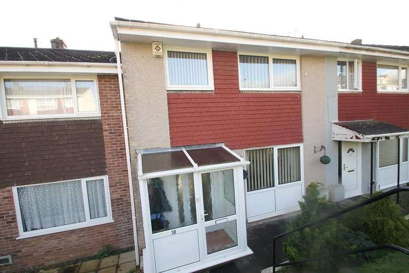 3 Bedrooms Terraced House for sale in Eggbuckland