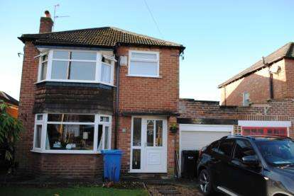 3 Bedrooms Detached House for sale in Larch Avenue, Cheadle Hulme, Cheadle, Greater Manchester