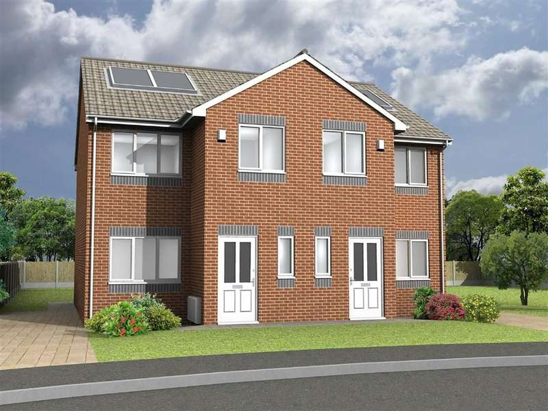3 Bedrooms Property for sale in Plot 28 Boundary Park, Boundary Drive, Oldham, OL1