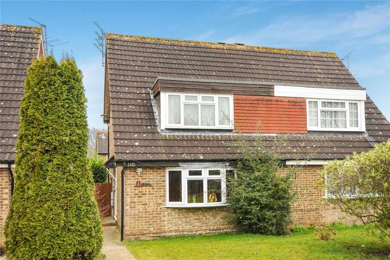 3 Bedrooms Semi Detached House for sale in Lillibrooke Crescent, Maidenhead, Berkshire, SL6