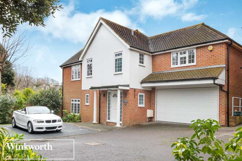 4 Bedrooms Detached House for sale in The Mews, Towergate, Brighton, East Sussex, BN1