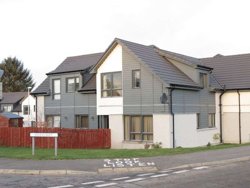 2 Bedrooms Flat for sale in Raven Croft, Dingwall