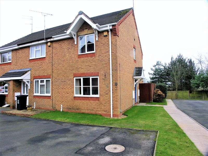 2 Bedrooms Terraced House for sale in Beaumaris Close, Dudley