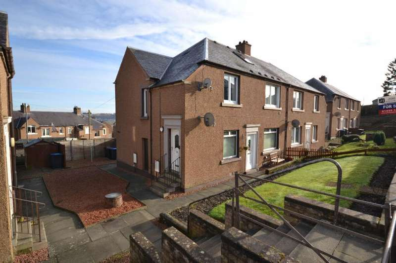 3 Bedrooms Maisonette Flat for sale in 15, Longcroft Road Hawick, TD9 0BT