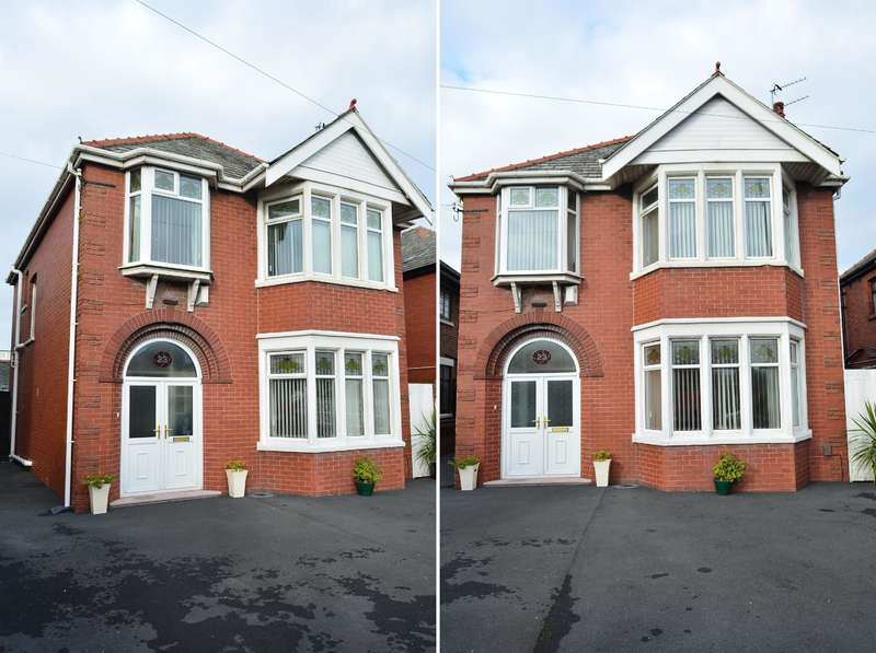3 Bedrooms Detached House for sale in Preston New Road, Stanley Park, Blackpool, FY3 9LU