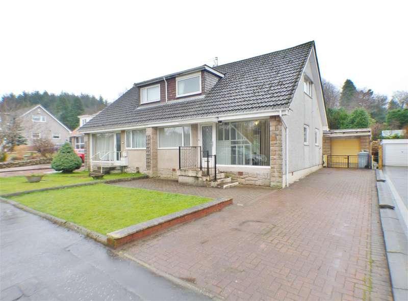 3 Bedrooms Semi Detached House for sale in Westport, Hairmyres, EAST KILBRIDE