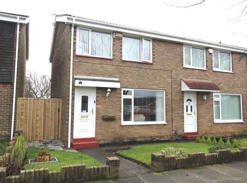 3 Bedrooms Terraced House for sale in Wreay Walk, Southfield Lea, Cramlington