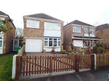 3 Bedrooms Detached House for sale in Yalding Gardens, Wollaton, Nottingham, Nottinghamshire