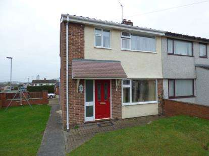 3 Bedrooms Semi Detached House for sale in Conway Avenue, Buckley, Flintshire, CH7