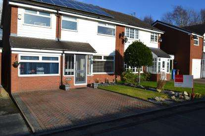 4 Bedrooms Semi Detached House for sale in Wilkin Croft, Cheadle Hulme, Cheadle, Greater Manchester