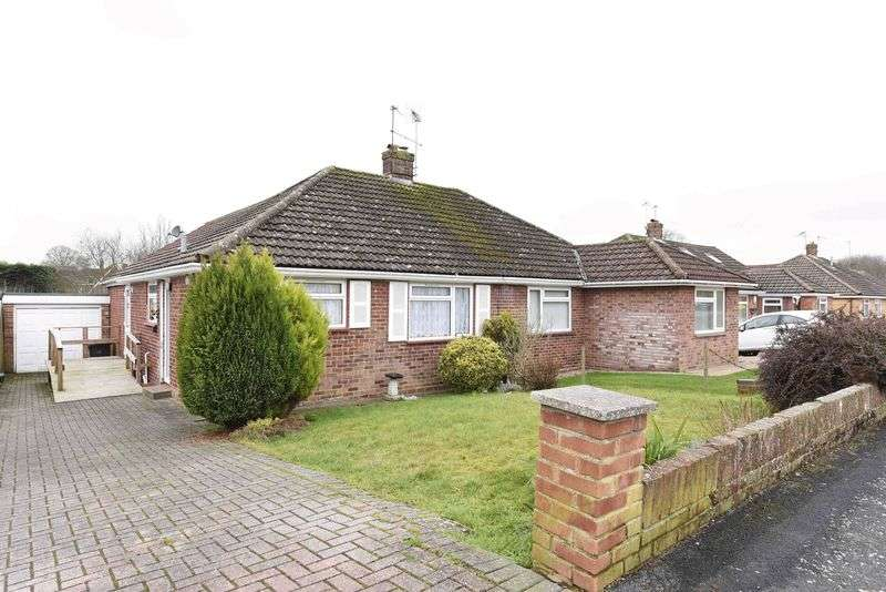 2 Bedrooms Semi Detached Bungalow for sale in Pitman Close, Basingstoke