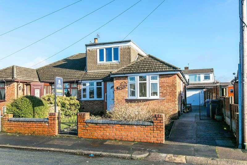 4 Bedrooms Semi Detached Bungalow for sale in Alston Road, Whelley, WN2 1AU