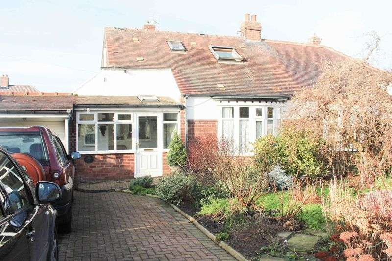 3 Bedrooms Semi Detached Bungalow for sale in Coach Road, Brotton