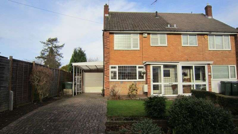 3 Bedrooms Semi Detached House for sale in Aynho Close, Mount Nod, Coventry