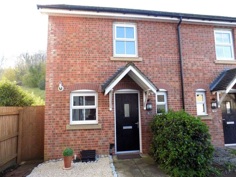 2 Bedrooms Terraced House for sale in Heron Drive, Hengoed