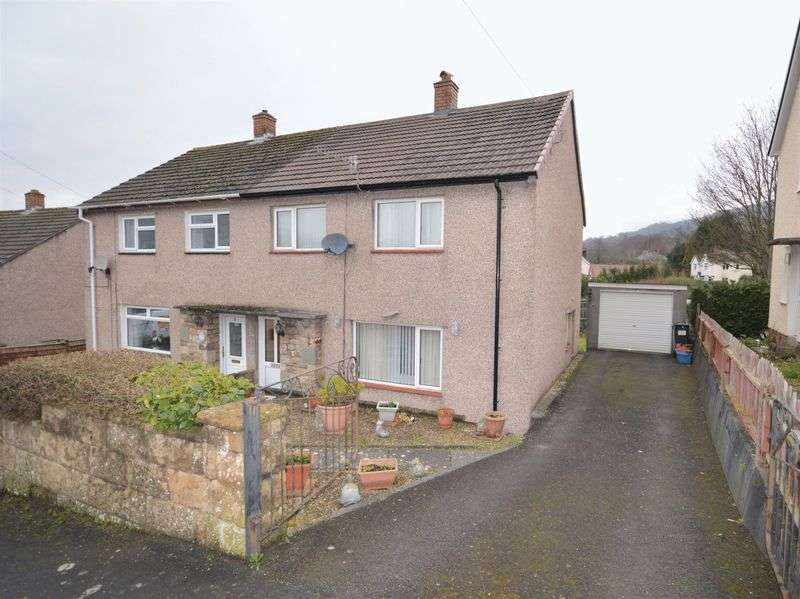 3 Bedrooms Semi Detached House for sale in Brynant, Crickhowell