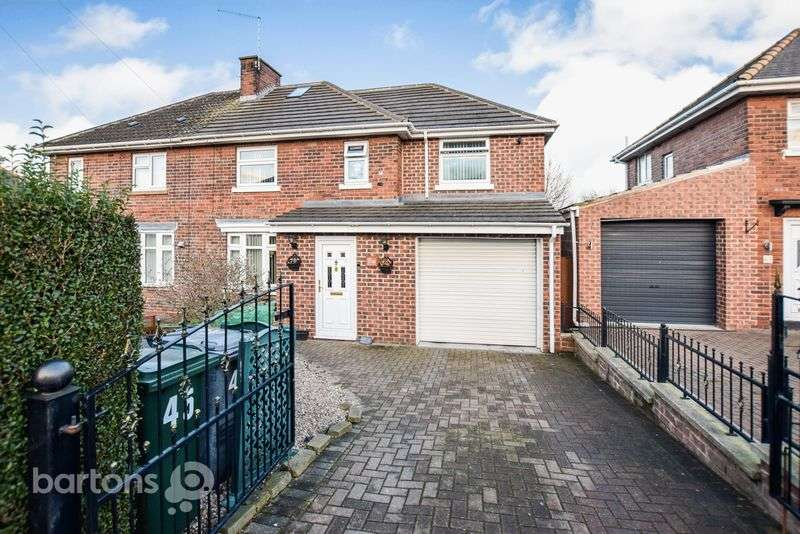 3 Bedrooms Semi Detached House for sale in Beaumont Drive, Herringthorpe