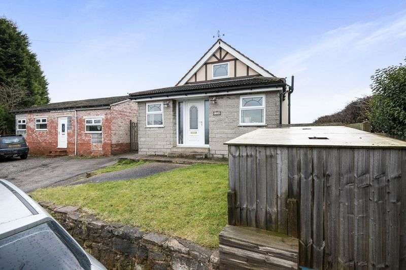 3 Bedrooms Detached Bungalow for sale in Chesterfield Road, North Wingfield, Chesterfield S42