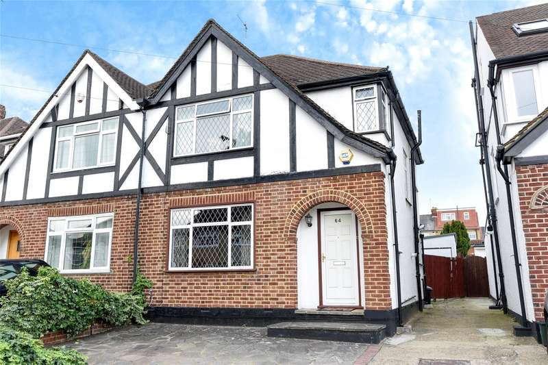 3 Bedrooms Semi Detached House for sale in Melthorne Drive, South Ruislip, Middlesex, HA4