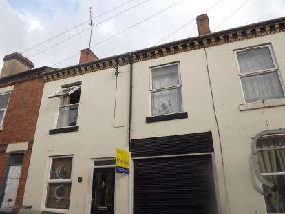 3 Bedrooms Terraced House for sale in Co-Operative Street, Derby, Derbyshire