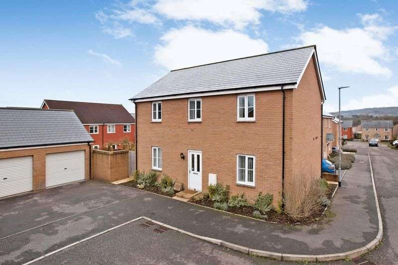 4 Bedrooms Detached House for sale in A good sized four bedroomed home offered with a double garage.