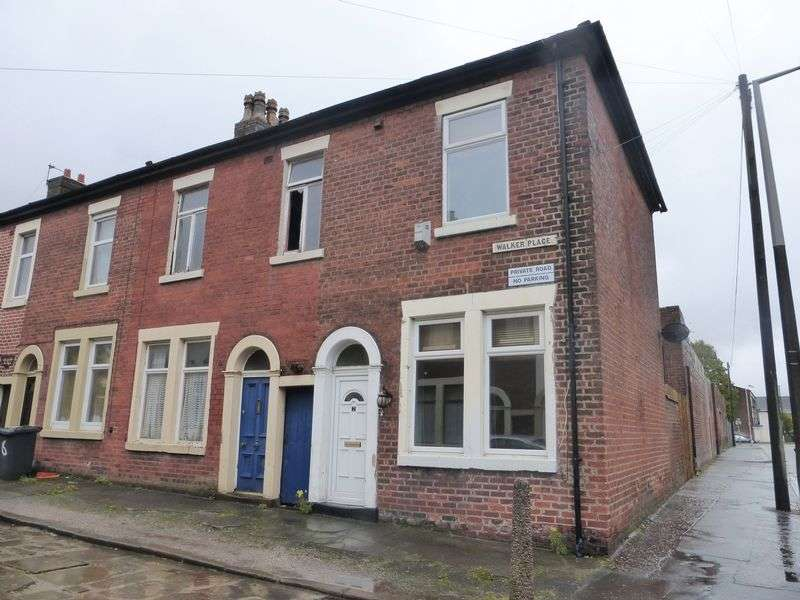 2 Bedrooms Terraced House for sale in Walker Place, Preston