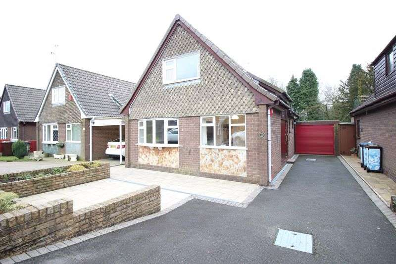 2 Bedrooms Detached House for sale in Denbigh Close, Knypersley, Staffordshire