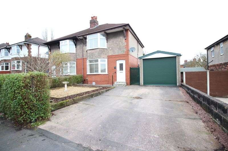 3 Bedrooms Semi Detached House for sale in Kingsfield Road, Biddulph, Staffordshire, ST8