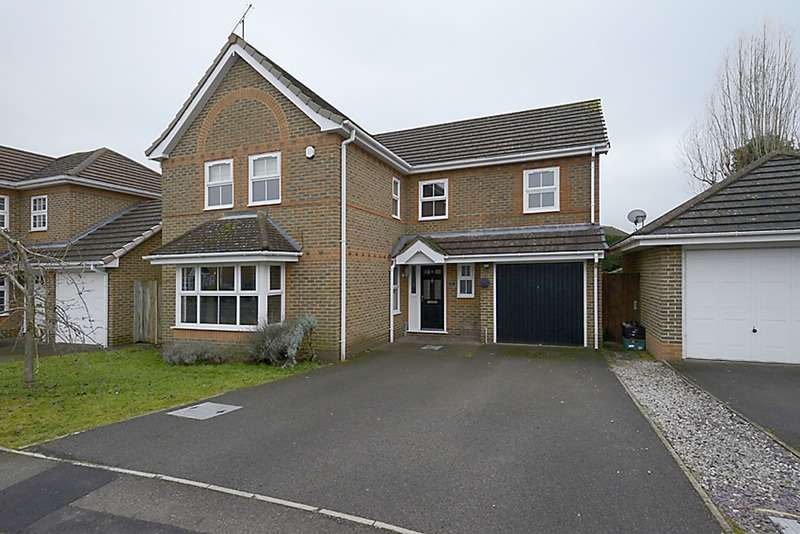 4 Bedrooms Detached House for sale in Conygree Close, Reading, Berkshire, RG6