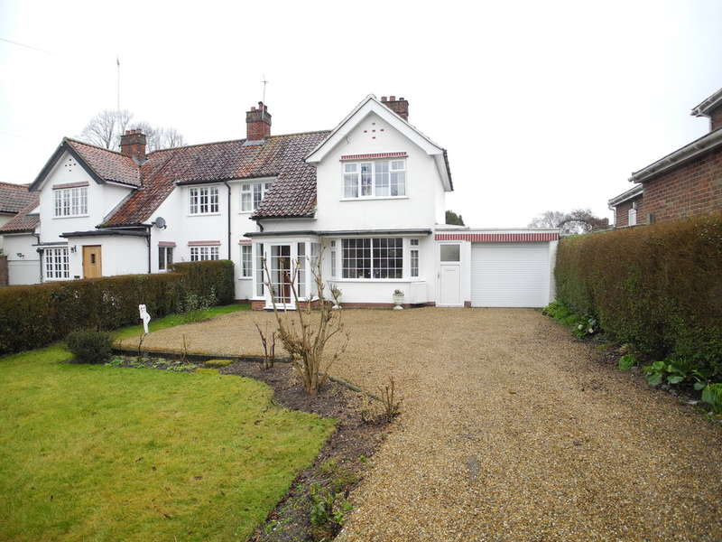 3 Bedrooms Semi Detached House for sale in Drayton High Road, Norwich