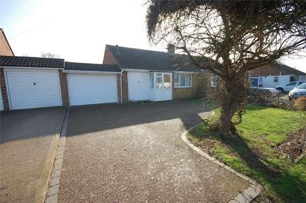 2 Bedrooms Semi Detached Bungalow for sale in New Meadow, Aylesbury, Buckinghamshire