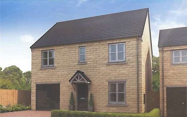 4 Bedrooms Detached House for sale in Stonegate, Linthwaite, Huddersfield