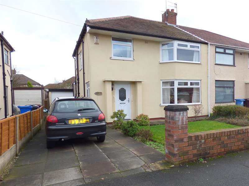 3 Bedrooms Semi Detached House for sale in Linden Drive, Huyton, Liverpool
