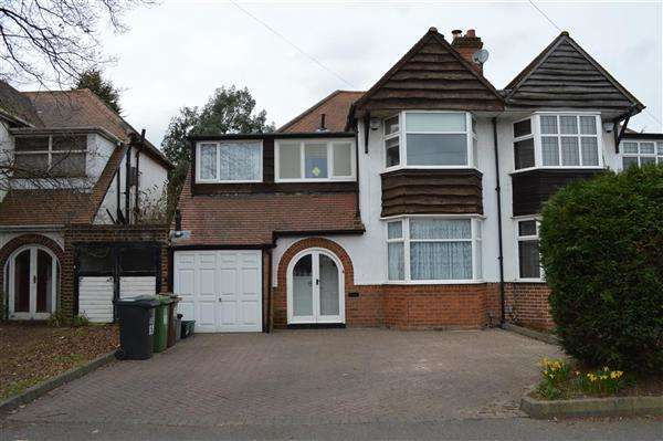 5 Bedrooms Semi Detached House for sale in Castle Lane, Olton, Solihull