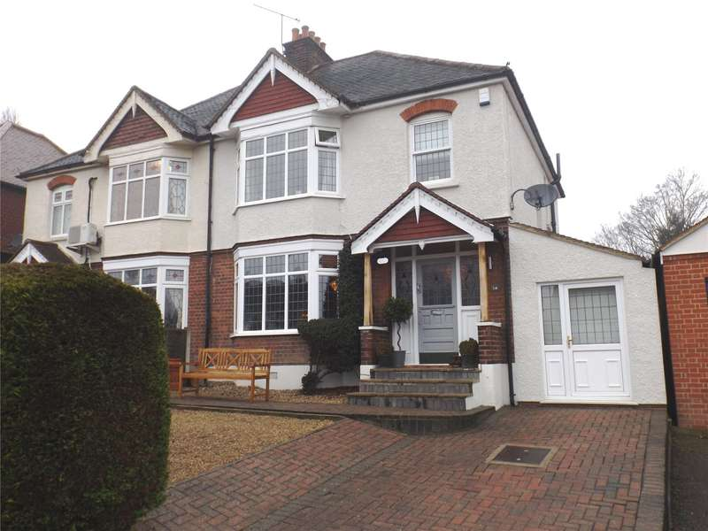 3 Bedrooms Semi Detached House for sale in Hill Road, Theydon Bois, Epping, Essex, CM16