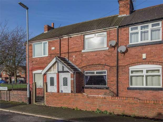 2 Bedrooms Terraced House for sale in Lincoln Street, Maltby, Rotherham, South Yorkshire