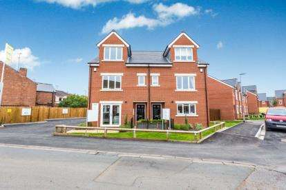 4 Bedrooms Town House for sale in St George's Lane, Worcester