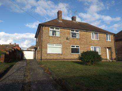 3 Bedrooms Semi Detached House for sale in Newbold Road, Chesterfield, Derbyshire
